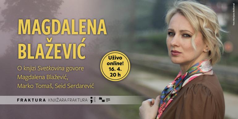 Tribina U središtu interesa – Magdalena Blažević: 'Svetkovina'