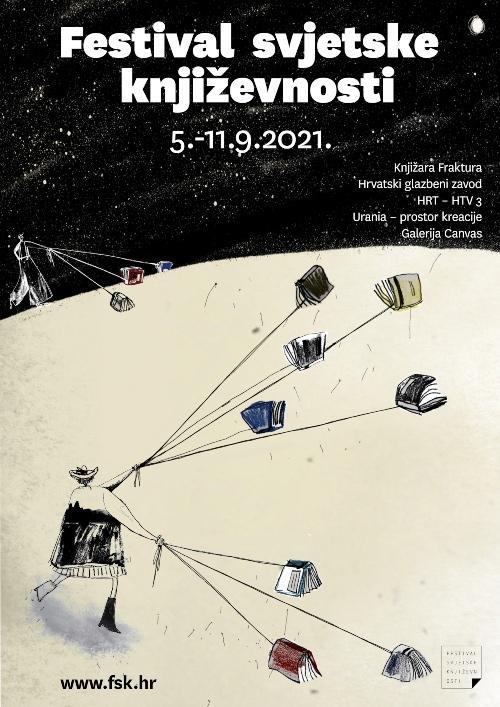 Festival svjetske književnosti 2021.  u rujnu ove godine